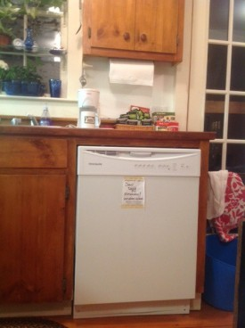 Dishwasher: Out of Order!