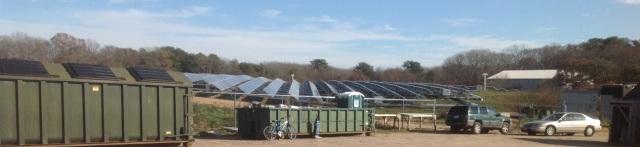 dump solar panels crop